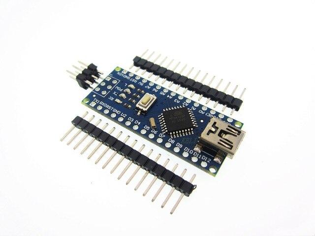 new 1pcs Nano 3.0 Controller Board Compatible with Arduino Nano CH340 USB Driver NO USB