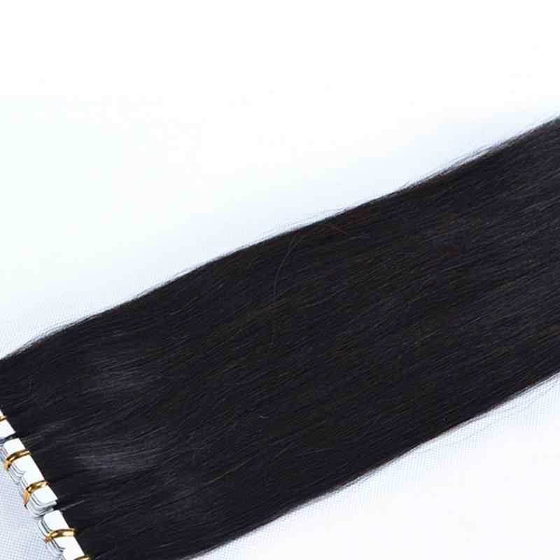 100% Unprocessed Human Hair Wigs Original Virgin Hair Straight Black Wigs Seamless Hair Extension Natural Color 45-80cm