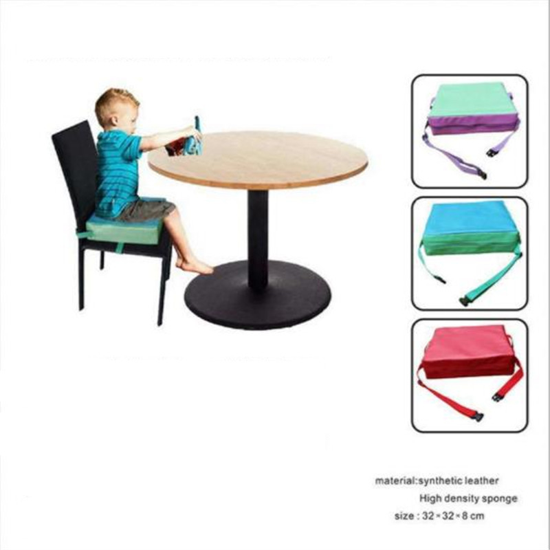 Fashion Children Increased Pad Baby Booster Seat Cushion Adjustable Removable Kids Dining Chair High Quality Hot Selling