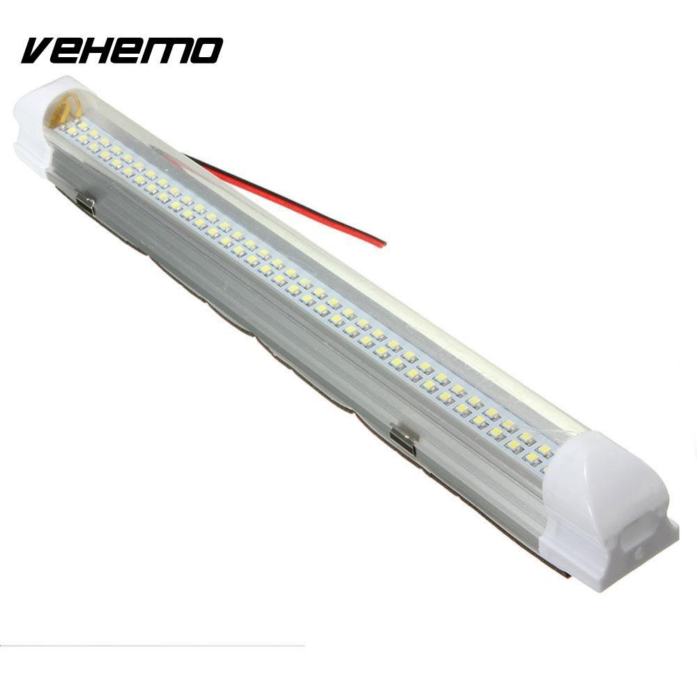 Vehemo 2,5 Вт 72 из светодиодов авто Ван автобус Караван Домашний свет бар Лампа с Вкл/Выкл переключатель автомобиля-стайлинг свет