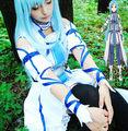 SAO Sword Art Online Yuuki Asuna Uniform Dress Outfit Anime Cosplay Costumes