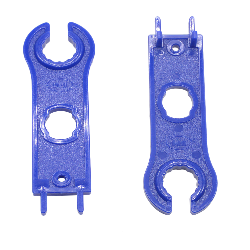 1 Pair(2pcs) MC4 Solar Connector Disconnect Tool Spanners  Solar Wrench Blue Solar Tools