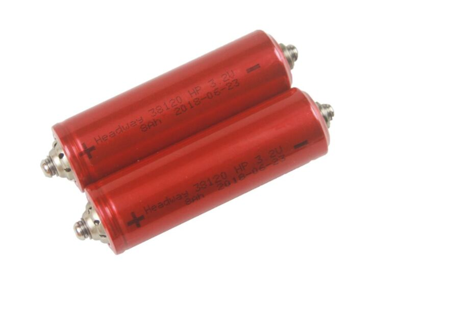 High C-Rate Headway 4pcs 38120HP LiFePO4 Battery Cell 8000mAh/3.2V