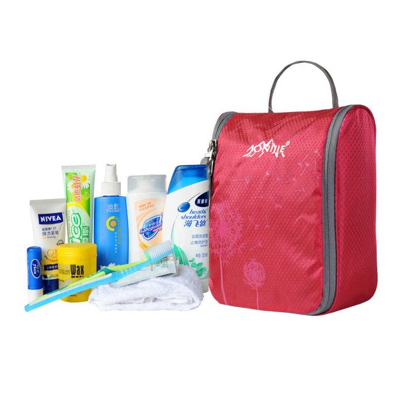 Aonijie Indoor Outdoor Travel Hotel Home Bathroom Toiletries Bag Waterproof Travelling Cosmetic