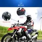 Motorcycle Helmet Headsets Locomotive Hands free Wireless Bluetooth Helmet Earphone Mp3 Walkie Talkie Easy Operation Waterproof - 4