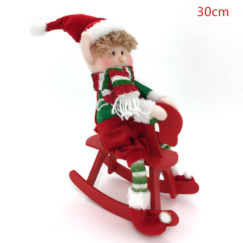 Winco Christmas Eve Hours.Us 23 77 Winco Christmas Long Legged Elf Plush Doll Toys For Children Festival New Year Dinner Party Home Christmas Decoration Best Gift In Dolls