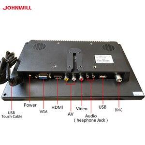 """Image 2 - 10.1 """"IPS מסך מגע 1920x1200 HDMI VGA/AV USB דיסק און קי קיבולי LCD צג תעשייתי רכב משחק"""