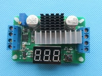LTC1871 DC DC Boost Converter Adjustable Step Up High Power Supply Module LED Voltage Meter Button