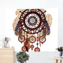 Tapiz de Mandala clásico nórdico, manta de playa de árbol de León, decoración del hogar, Tapiz de pared de Tapiz para el hogar, esteras de piscina, tela de playa