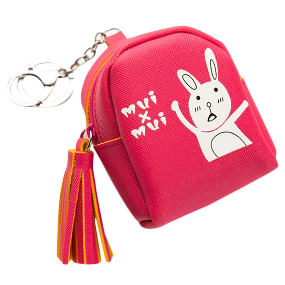 Teenager Girls Cute Character Animal Pattern Coin Purse Women Fashion Leather Wallet Change Printing Letters Flap Zipper Pouch 2016 women coin purses wallet ladies 3d printing cats dogs animal big face fashion cute zipper bag pencil case 18 12cm pouch
