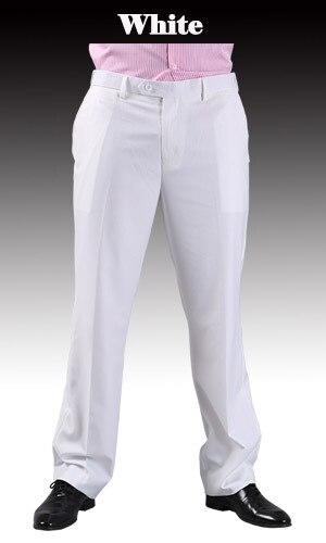 Тонкие брюки мужской формальный деловой Slim Fit Свадебный костюм брюки Diamond синий цвет красного вина черные брюки Размеры 44 плюс Размеры A37 - Цвет: White