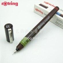 Rotring mürekkep kalem iğne cetvel kalemi stylus 0.2 1.0mm 1 adet/grup