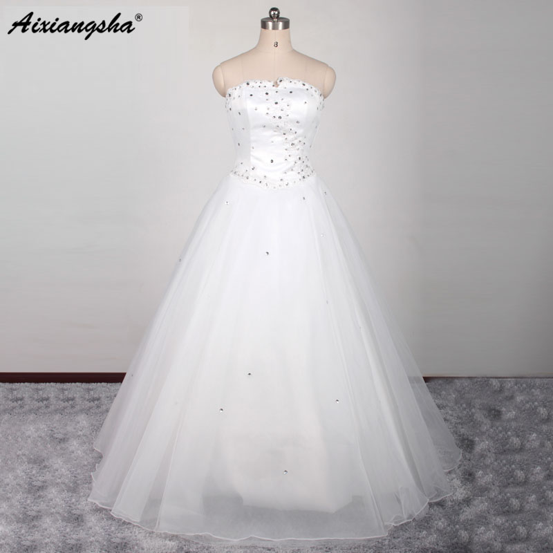 Cut Rate New Styles Vintage Wedding Gowns China Western Styles Beads