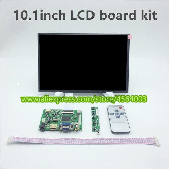 Pantalla de 10,1 pulgadas IPS 1280*800 HD pantalla de visualización EJ101IA-01G LCD controlador de monitor Tarjeta de controlador remoto HDMI VGA Raspberry pi kit de módulo de