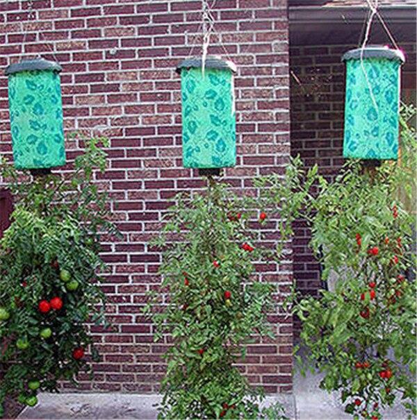 New Tomato Herb Vegetable Topsy Turvy Upside Down Pot Garden Hanging Planter-in  Flower Pots & Planters from Home & Garden on Aliexpress.com | Alibaba Group - New Tomato Herb Vegetable Topsy Turvy Upside Down Pot Garden