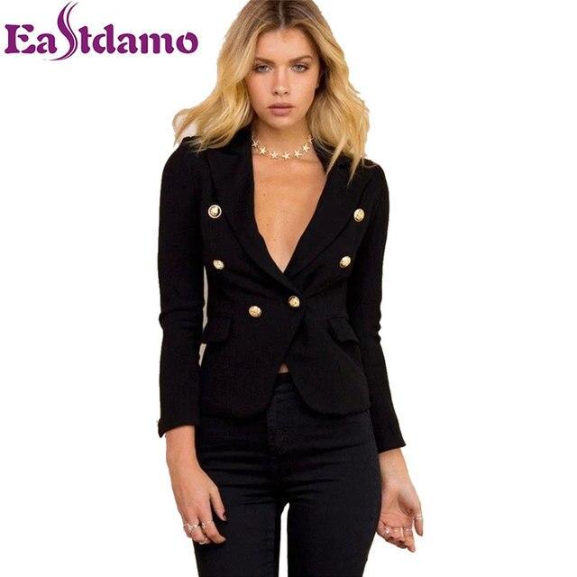 Mulheres Blazers E Jaquetas de moda Outono Senhoras de Alta Qualidade Elegante Fino Terno Blazer Ocasional Casacos Casuais OL Blazer Terno Outwear
