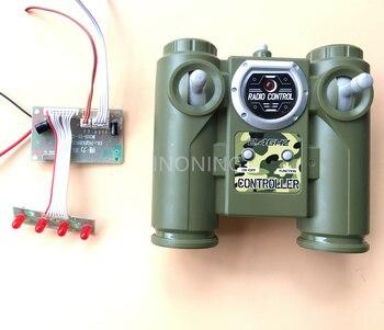 2018 새로운 2.4g 6ch 원격 제어 huanqi 라디오 모듈 유닛 보드 diy 자동차 탱크 선박