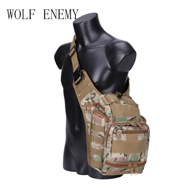 6db8c5a9f6 Outdoor Military Tactical Sling Sport Travel Chest Bag Shoulder Bag for Men  Women Crossbody Bags Hiking Camping Equipment