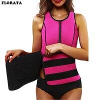 FLORATA Hot Sale Neoprene Shapers Waist Trainer Modeling Strap Corset Slimming Belt Vest With Adjustable Shapewear