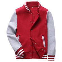 2017 Spring Autumn Men Jackets Baseball coat men Slim type Jacket Mens Brand Clothing Outerwear Manteau Homme Bomber Jacket