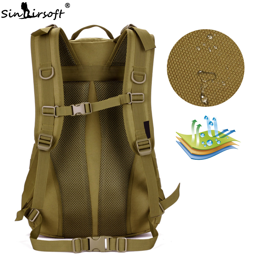 Army Stop118 Backpacks 35L