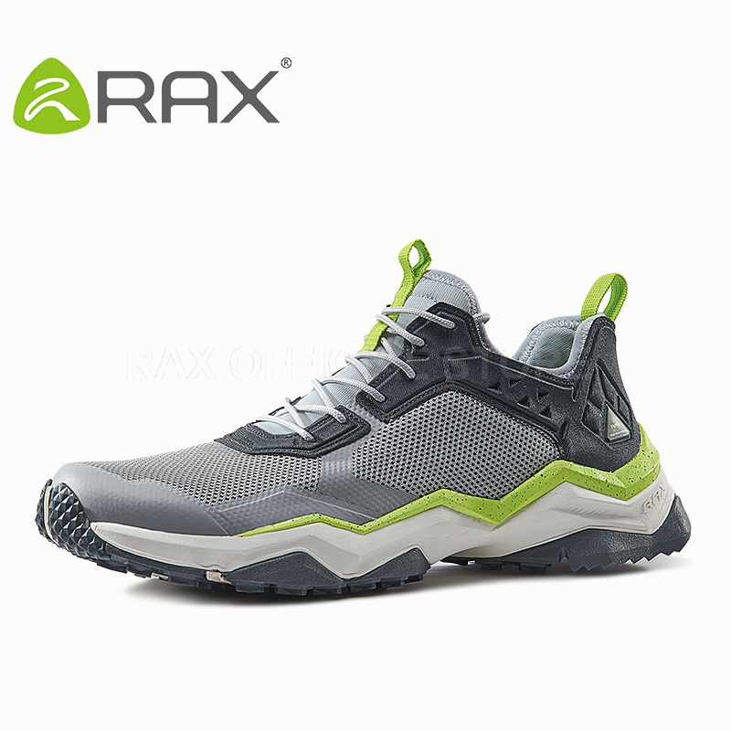 Rax Breathable Hiking Shoes Men Outdoor Men Sneakers Summer Mens Trekking Shoes Walking Climbing Mountain Boots Sport Shoes rax summer hiking shoes men breathable outdoor sneakers antiskid trail mountain shoes women sports shoes durable climbing shoes