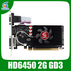 Veineda original HD6450 2GB DDR3 64Bit 625/1000MHz DVI/VGA/HDMI for normal PC and small PC