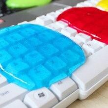 Чистящий клей для чистки от пыли, скользкий гель-щетка для клавиатуры, ноутбука, автомобиля, волшебный слизи, гель-щетка, универсальный для ПК, компьютерная клавиатура, автомобильная розетка