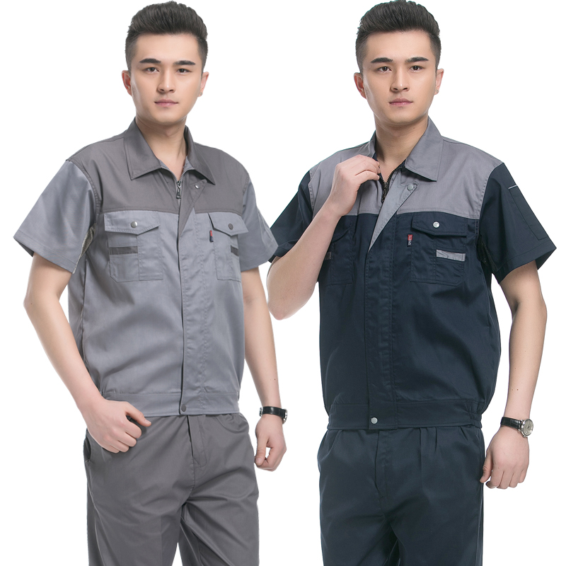 Hotel Uniform Summer Half Sleeve Suit Male Clothing