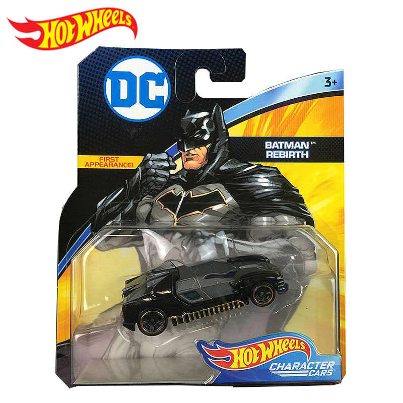 Originele Hotwheels Dc Comics Simulatie Metalen Mini Racing Model Auto Super Hero Batman Serie Speelgoed voor Jongens Oyuncak Araba Gift