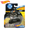 Original Hotwheels Dc Comics Simulation Metal Mini Racing Model Car Super Hero Batman Series Toys for Boys Oyuncak Araba Gift