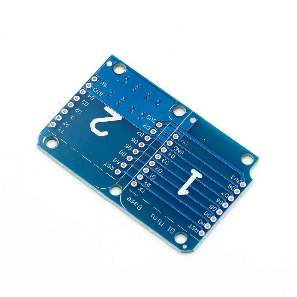 Podwójne gniazdo podwójna podstawa prawna tarcza dla Wemos D1 Mini NodeMCU ESP8266 Diy PCB D1 karta rozszerzenia