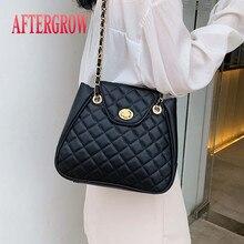 2019 New Female Shoulder Bags Quality PU Leather Designer Chain Women Handbags Luxury Classic Diamond Lattice Lady Messenger Bag