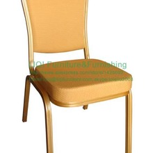 wholesale quality strong gold aluminum banquet chairs LQ-L1030E