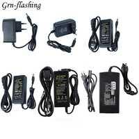 Output DC Voltage 12V Current 1A 2A 3A 5A 6A 8A 10A Power Supply Adapter Transformador AC 110-220V to DC 12V LED Lights Driver