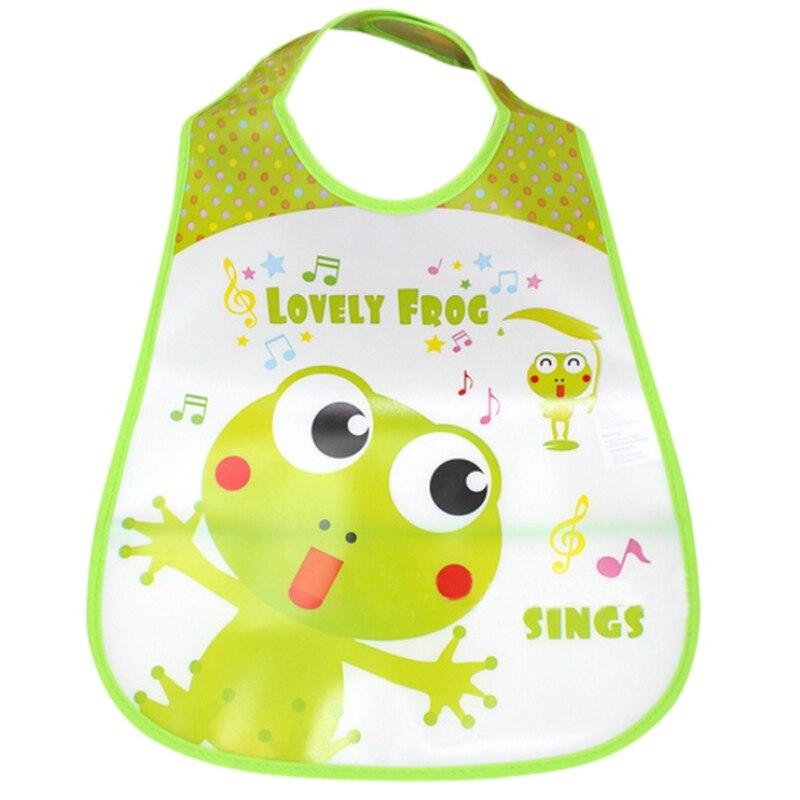 New Design Waterproof Newborn Baby Bibs Silicone Feeding Baby Saliva Towel Lovely Cartoon Aprons Baby Bibs S2