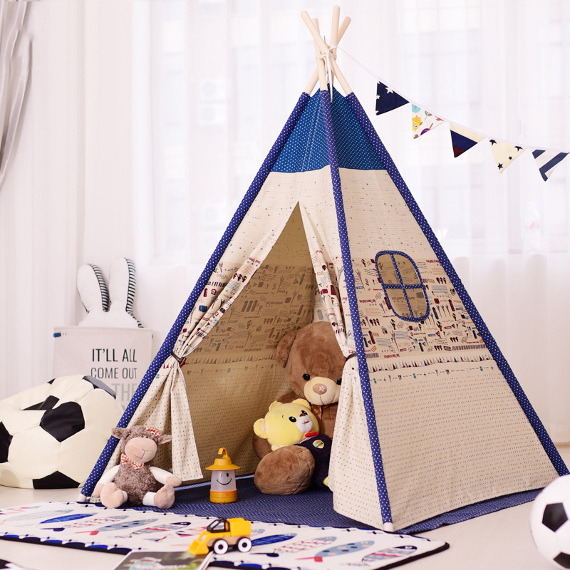 Indian Childrens Tent Baby Play House Indoor Baby Toy Tent Spire Striped Princess Tent Outdoor ToysIndian Childrens Tent Baby Play House Indoor Baby Toy Tent Spire Striped Princess Tent Outdoor Toys