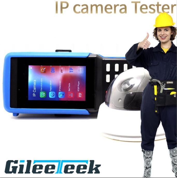 IPC-9310S H.265 4 K IP CCTV testeur moniteur AHD CVI TVI analogique CVBS caméra testeur 8MP 5MP RJ45 TDR WIFI ONVIF 12V3A POE