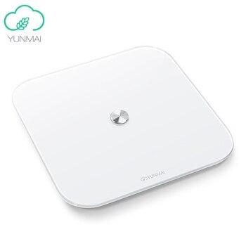 YUNMAI Internation Version SE M1680 Smart Body Fat Scale Bluetooth 4.0 APP Remote Control Body Composition Monitor Smart Scale