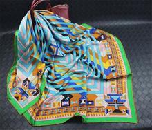 Twilly Silk Scarf Square Women Scarfs Shawls And Scarves Hijab Bufanda Foulard Femme  Cachecol Feminino 140x140cm SF0286