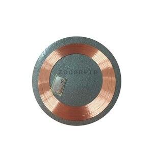 Image 3 - (10 sztuk/partia) RFID 125KHz T5577 wielokrotnego zapisu monety karty Tag do kopiowania okrągły kształt naklejki wykorzystanie do telefonu komórkowego