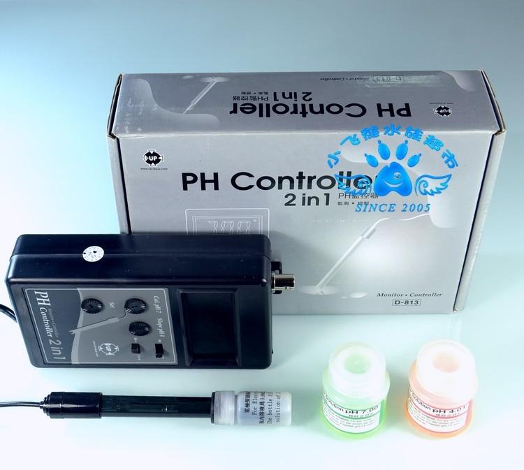 Ev ve Bahçe'ten Temizleme Araçları'de PH monitör denetleyici test kiti su testi 2 in 1 PH akvaryum tatlı deniz balık tankı UP D 813 110v ~ 240v'da  Grup 1