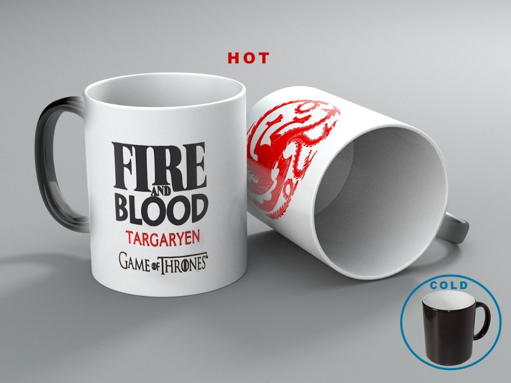 Color Changing Mug Game Of Thrones 23