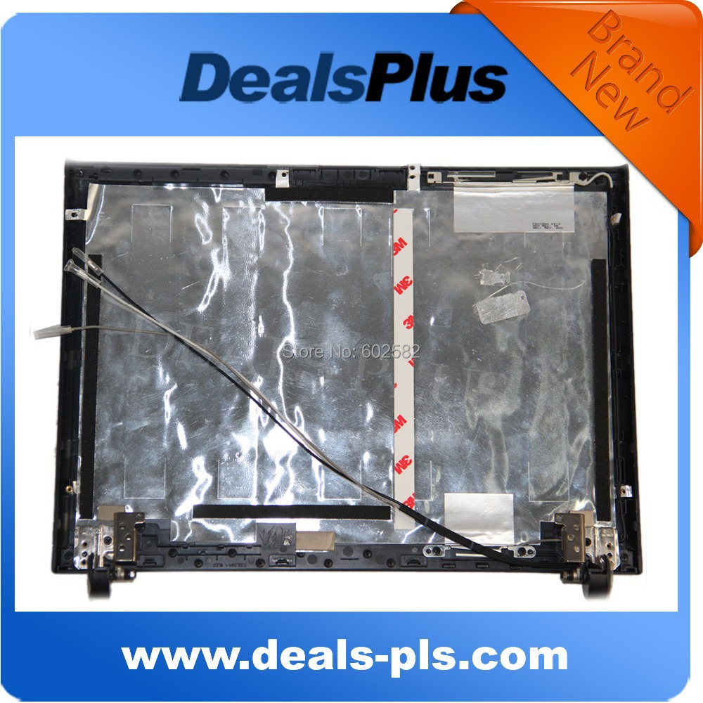 ФОТО Black LCD Back Cover Lid with hinges FOR Dell Vostro 1220 12.1