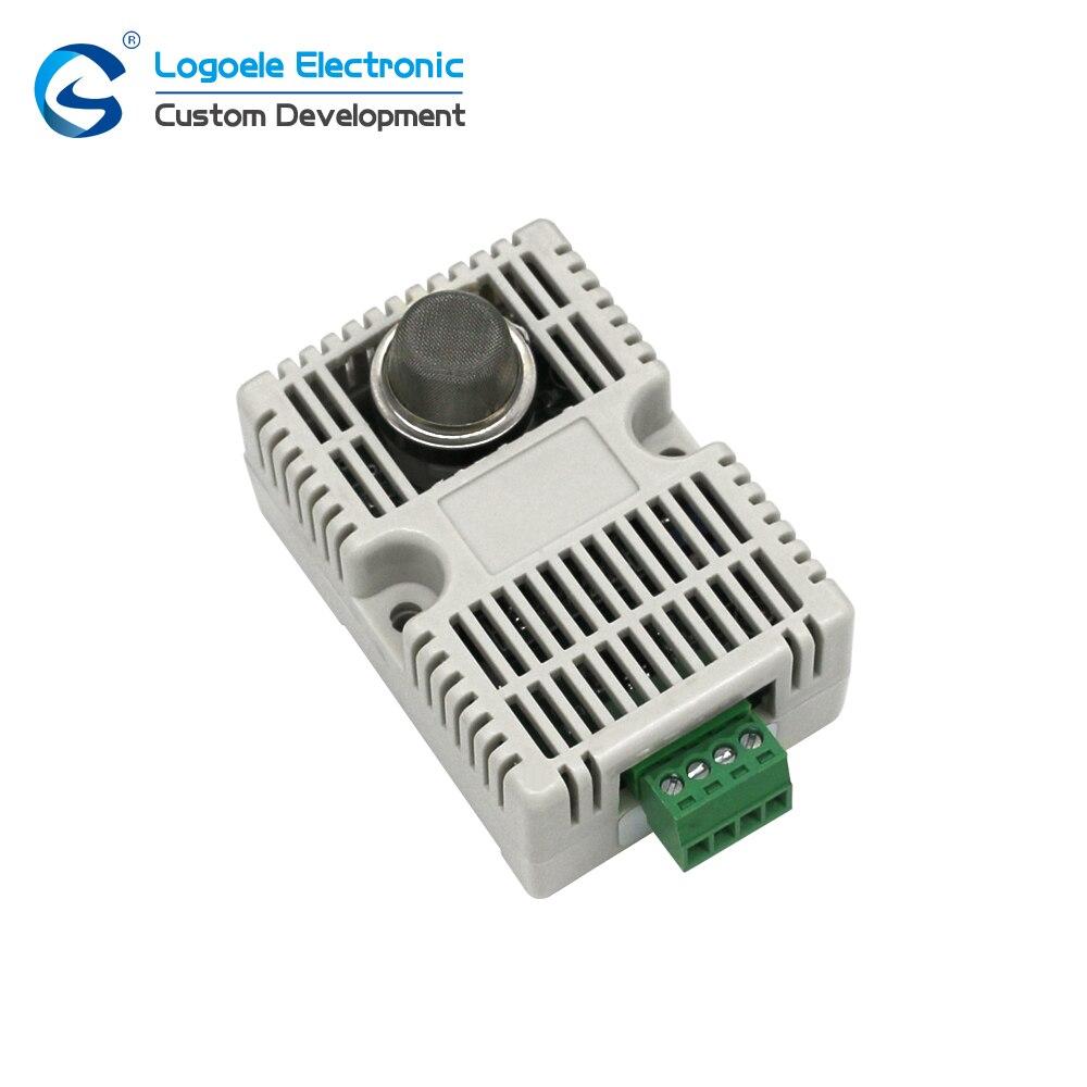 High quality gas sensor module MQ2 with shell MQ-2 smoke sensor module combustible gas detection Free shipping