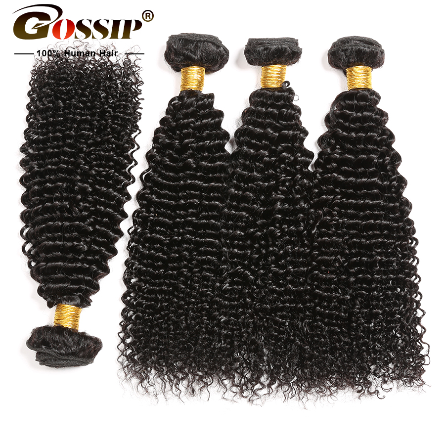 Mongolia Kinky Curly Hair Bundles Gossip Hair Extension 100% Human Hair Bundles 8