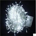 Luminaria frete Grátis 100LED Lâmpadas Xmas Do Casamento Do Jardim Decoração LED String Luz Da Noite Brilho do Noel AC110V