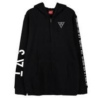 Kpop seventeen 2018 japan arena svt concert same printing zipper hoodie jacket fleece/thin unisex seventeen sweatshirt outwear