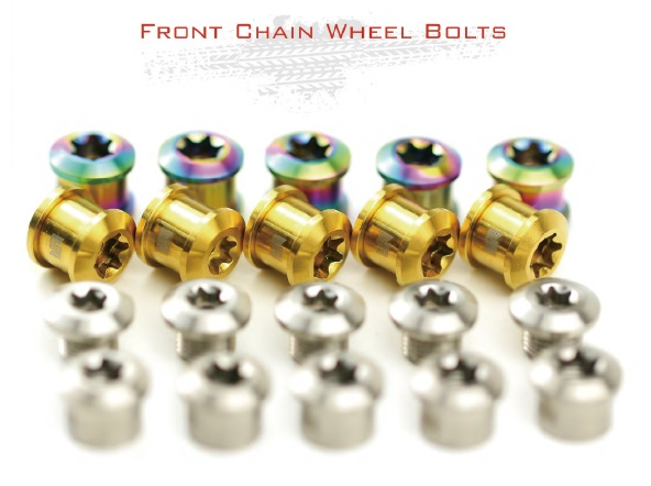 Stan-Ti bike bicyle crankset crank Set Single or Double Chain Ring  colorful Stuff Bolt  bolts with Nuts 6..5mm/8.5mm bike parts free ship td04l 49377 04200 14412aa231 turbo turbocharger for subaru forester impreza 1998 03 58t ej20 ej205 2 0l 210hp gaskets