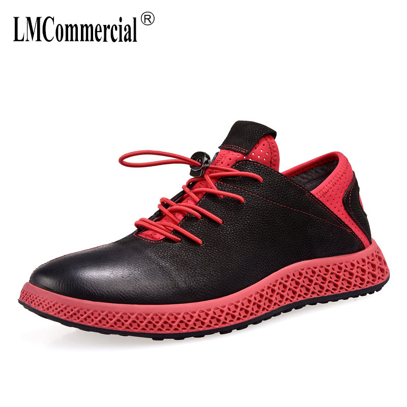 mens lazy shoes fashion men casual natural leather loafers all match cowhide breathable sneaker fashion boots